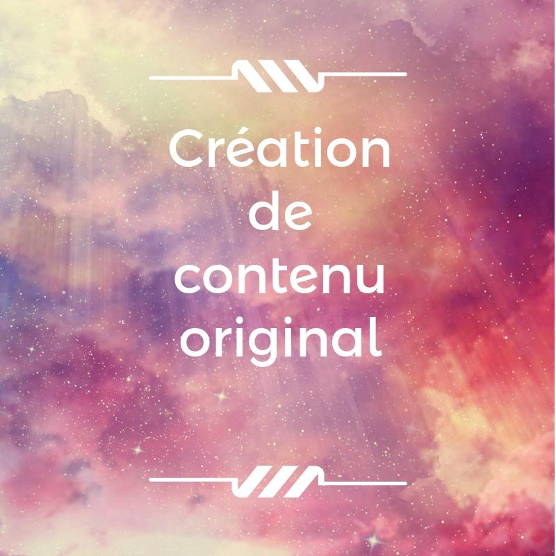 Créer du contenu original