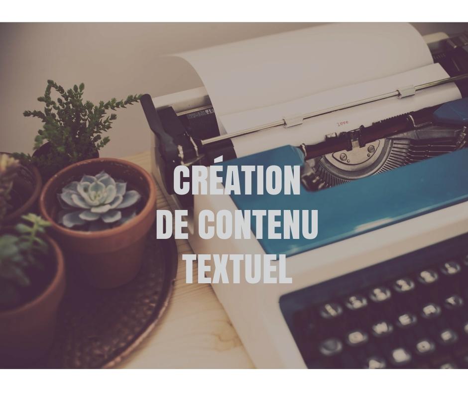 Création de contenu textuel
