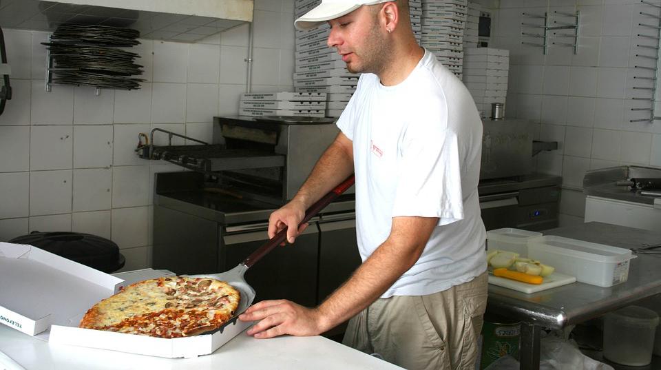 Création de site web pour pizzeria